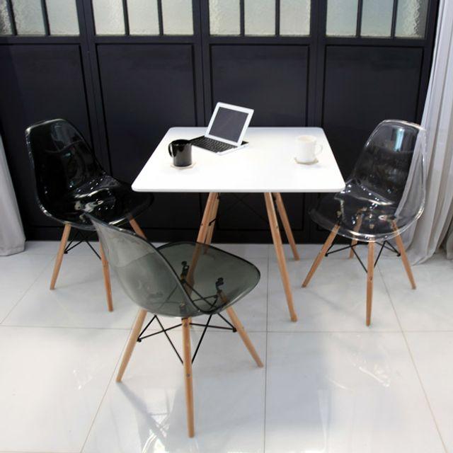 디센 누디하이 750 사각 2인 식탁 테이블세트