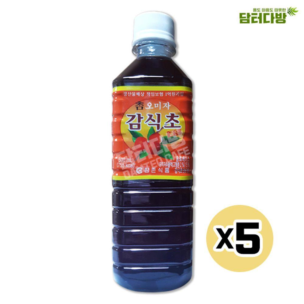 참존식품 오미자감식초 500ml X5