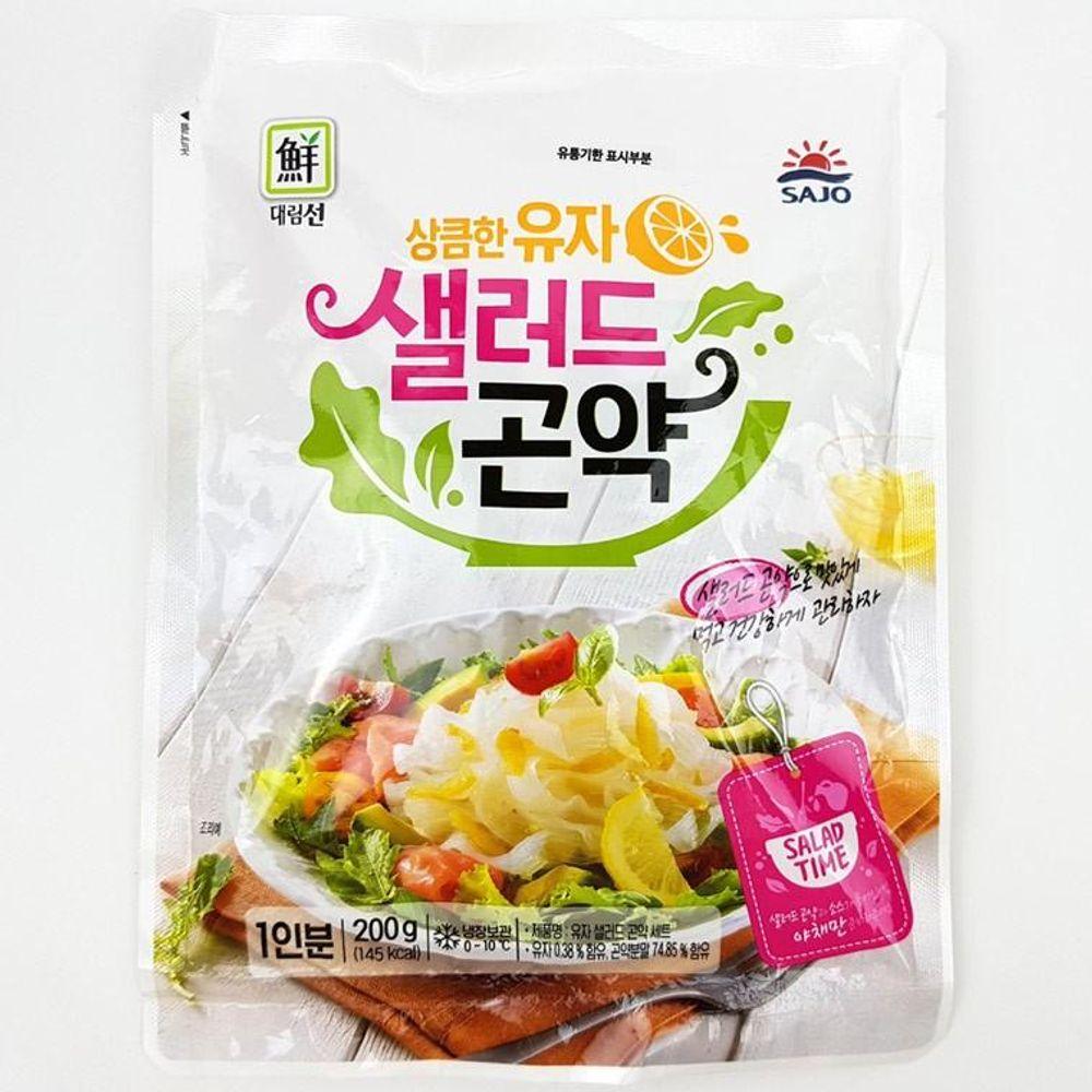 IN6701 유자 샐러드 곤약 200g