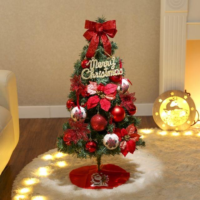 인테리어 90cm 로엔 스카치트리 풀세트 트리 크리스마스 성탄절 장식 54084B
