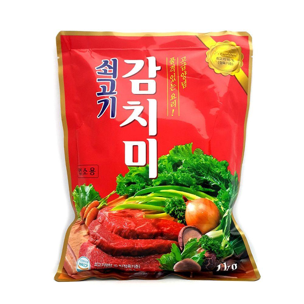 청정원 쇠고기감치미 1kg/ 대용량 조미료/ 업소용