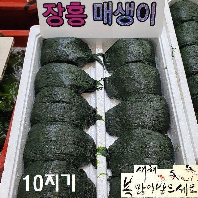 구정설명절세트 바다향과맛 매생이 3kg이상