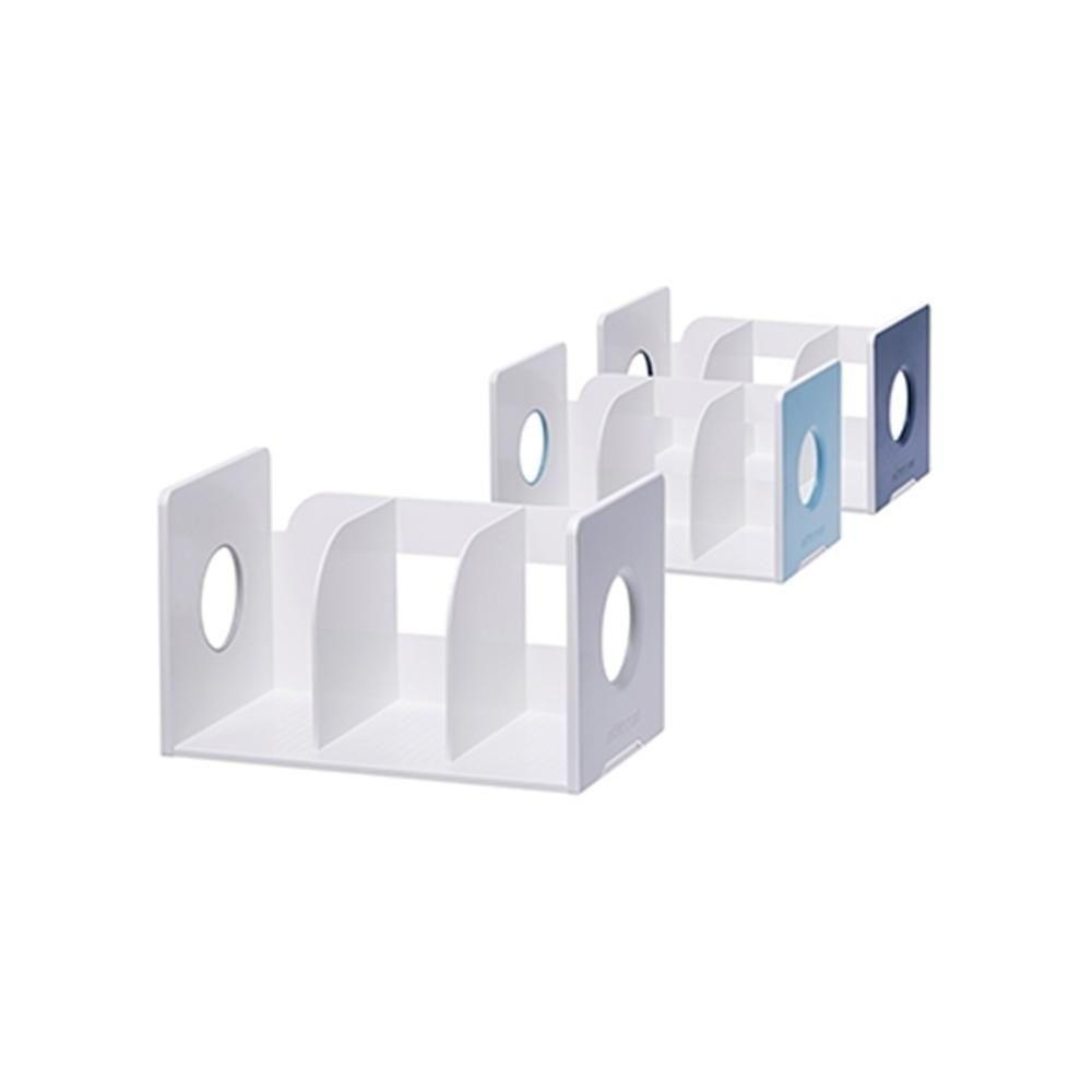리템 마이룸 책꽂이 3단 2개입 손잡이 서류 정리 진열
