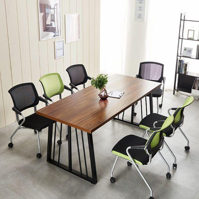 포그니체어 테이블세트 1800 사무실 회의책상 의자6개