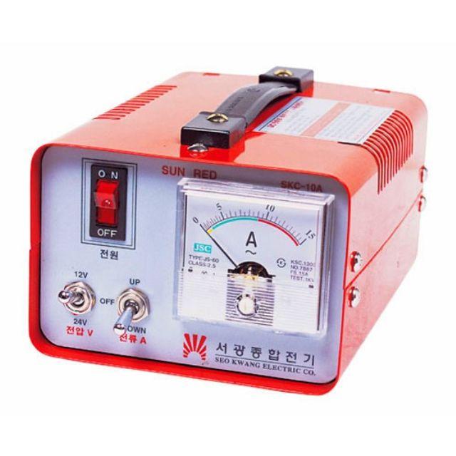 금성 경차량용 배터리충전기 SKC10 12V전용
