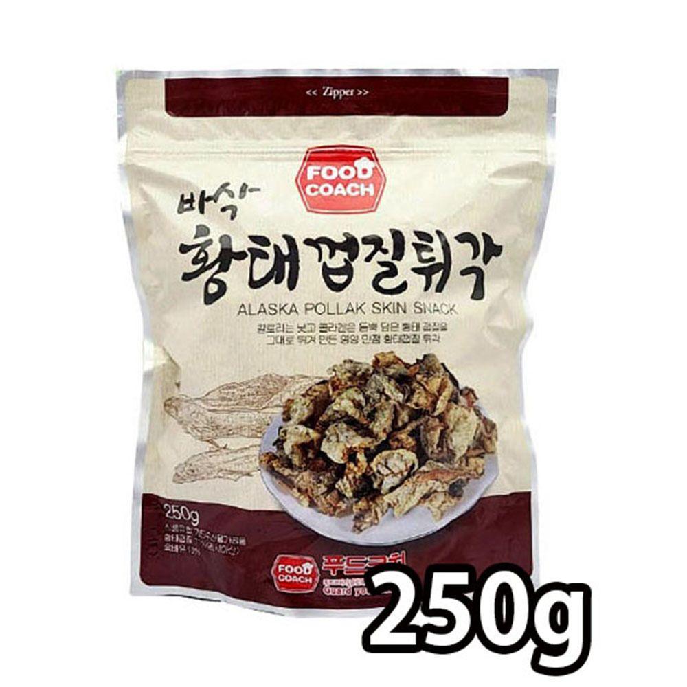 칼로리 낮은 그대로 튀겨낸 바삭한 황태 껍질 250g