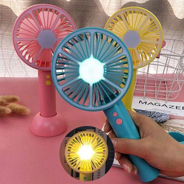 LED 휴대용선풍기 USB선풍기 미니선풍기 핸디선풍기