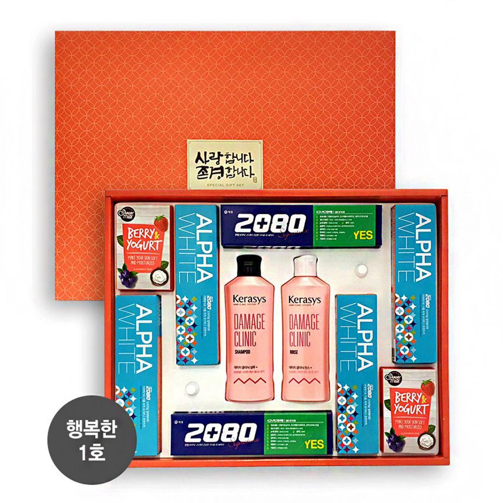샴푸 린스 치약 비누 추석 설날 알뜰 종합 선물세트