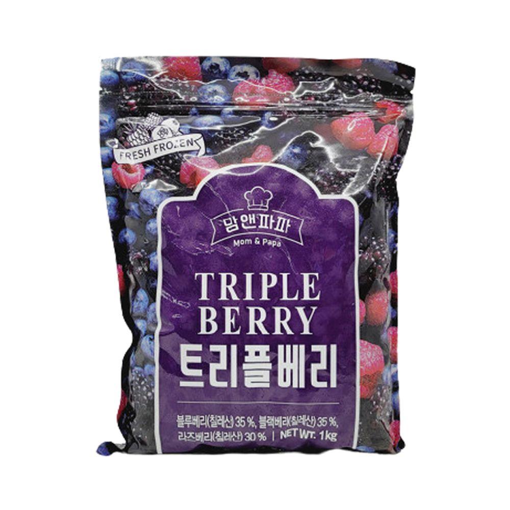 맘앤파파 냉동 트리플베리 1kg