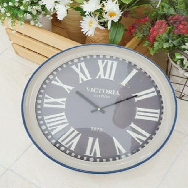 빅토리아 철제 벽시계 벽장식 시계 모던 장식소품