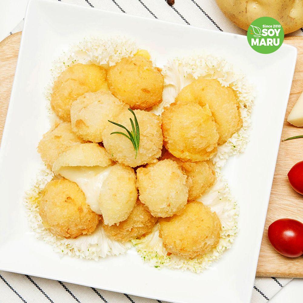쏘이마루 콩고기 콩단백 영양간식감자 치즈볼 240g