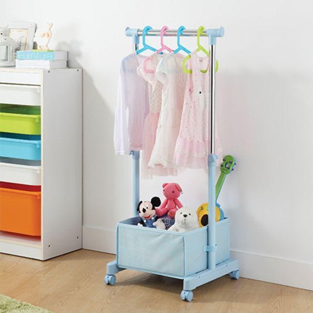 K.T 고급 32 어린이행거 (블루) 어린이방 옷걸이