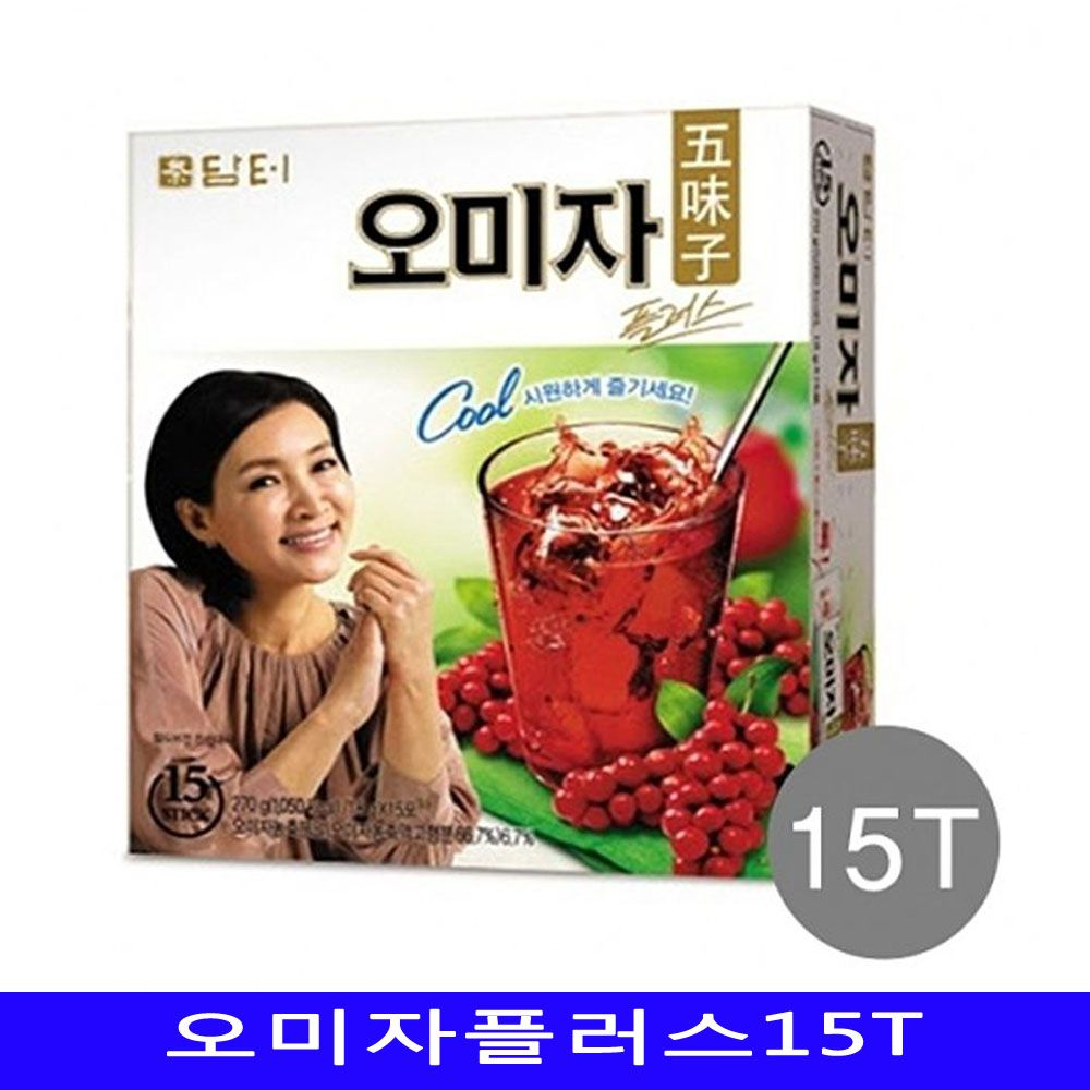 담터 오미자플러스 건강차 15개/1박스