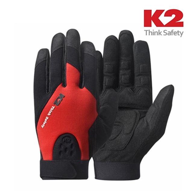 아이티알,NQ K2 진동방지용 안전장갑 레드 산업용 안전장갑