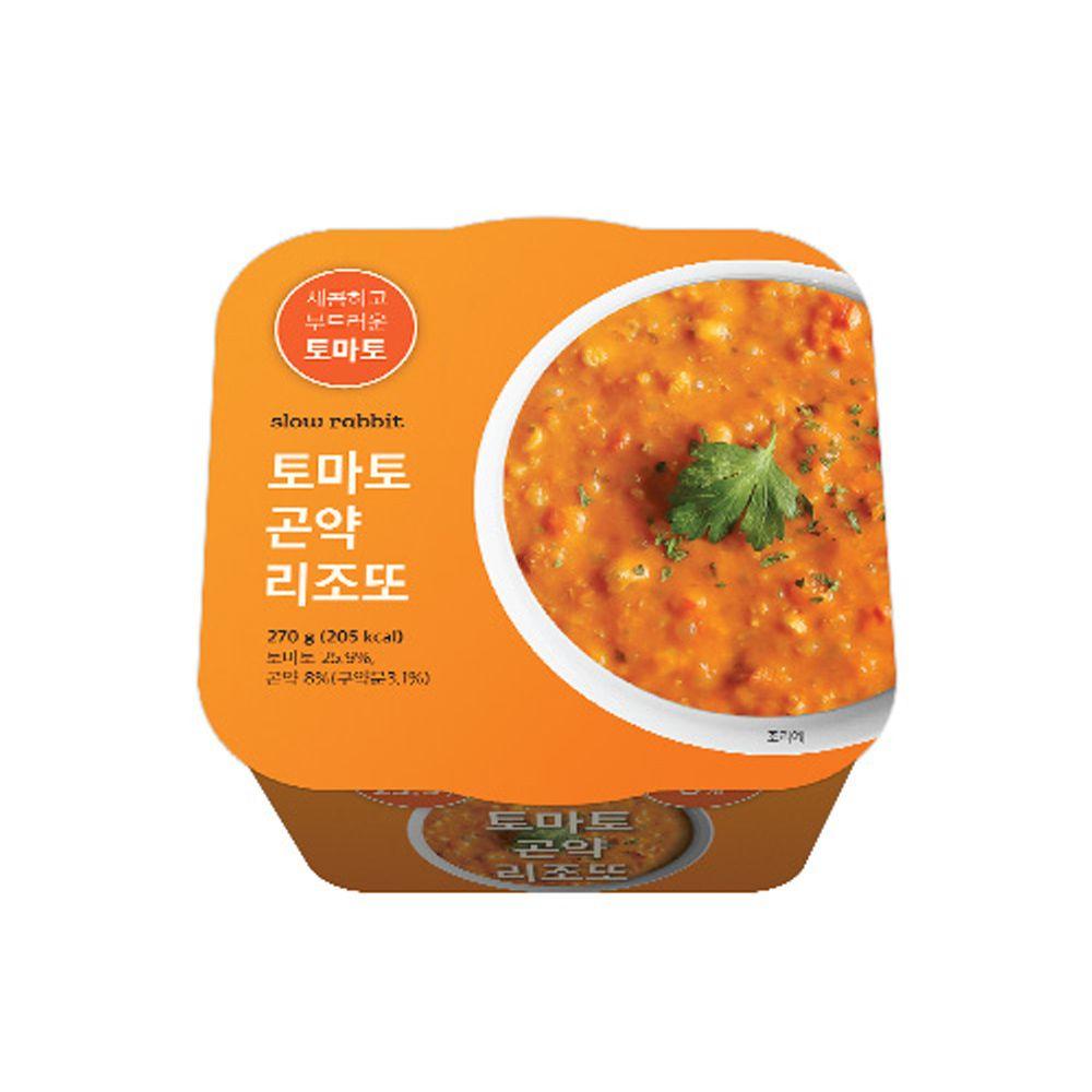 간편한 슬로우래빗 토마토곤약 리조또x24개 1박스