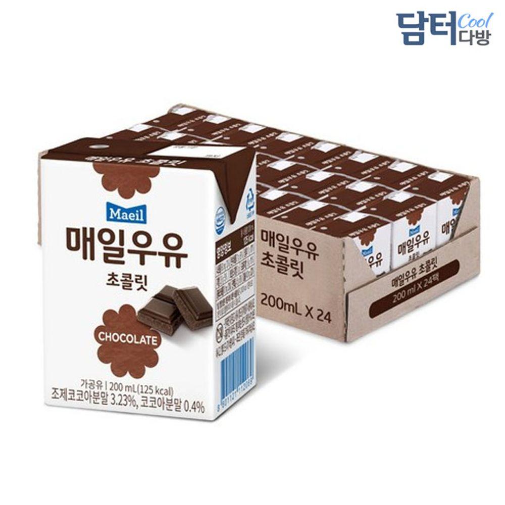 매일유업 초코우유 200ml (24팩)