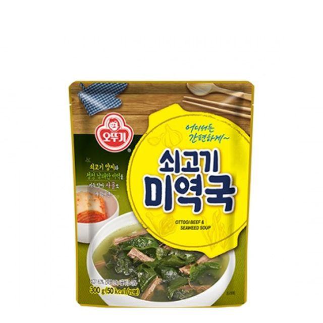 오뚜기 쇠고기 미역국(상온) 300g