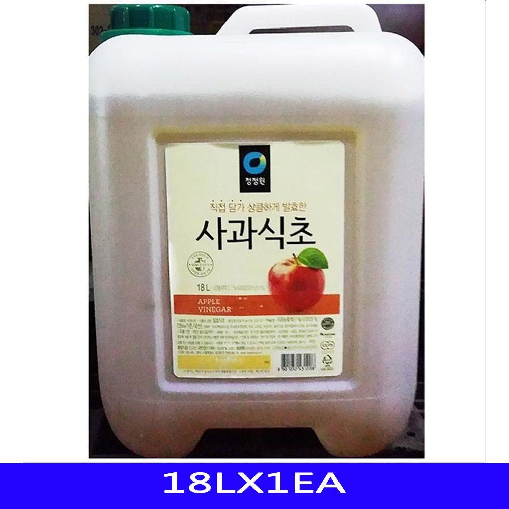 발효 대용량 사과 식초 업소용 식자재 대상 18LX1EA
