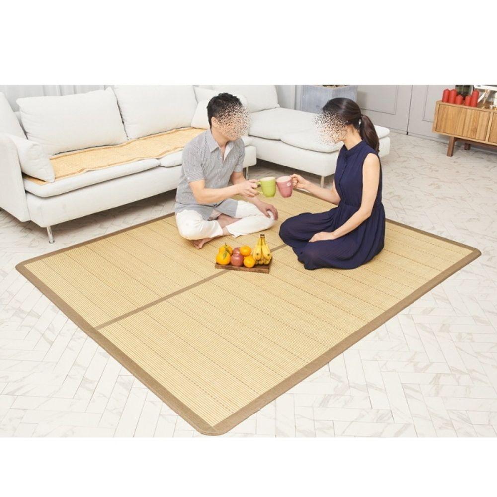 접이식 천연 대자리 대 180x220cm 침대 바닥 쇼파