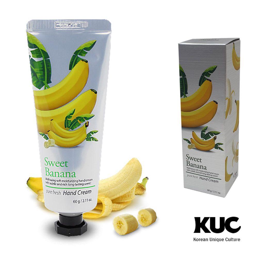 자연재료 퓨어후레쉬 바나나 핸드크림 60g