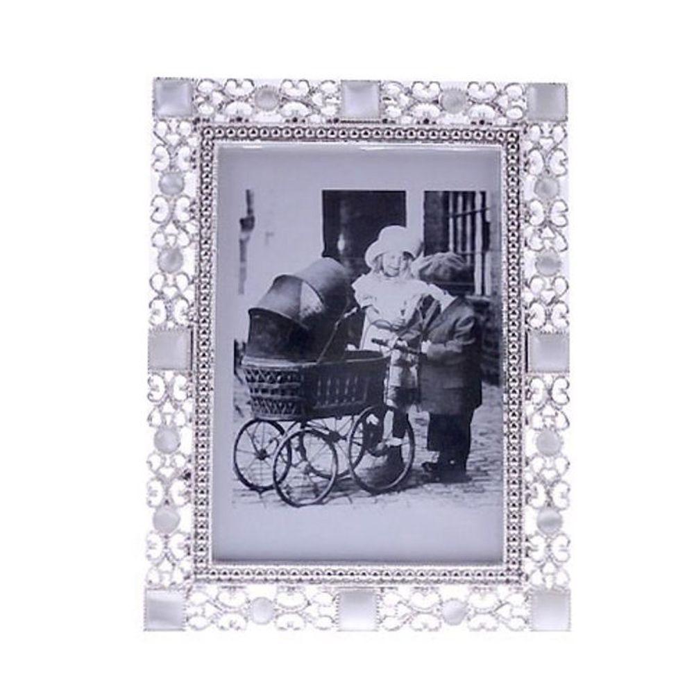 주석 탁상 액자 캣츠아이 4x6 가족 사진 그림 명화