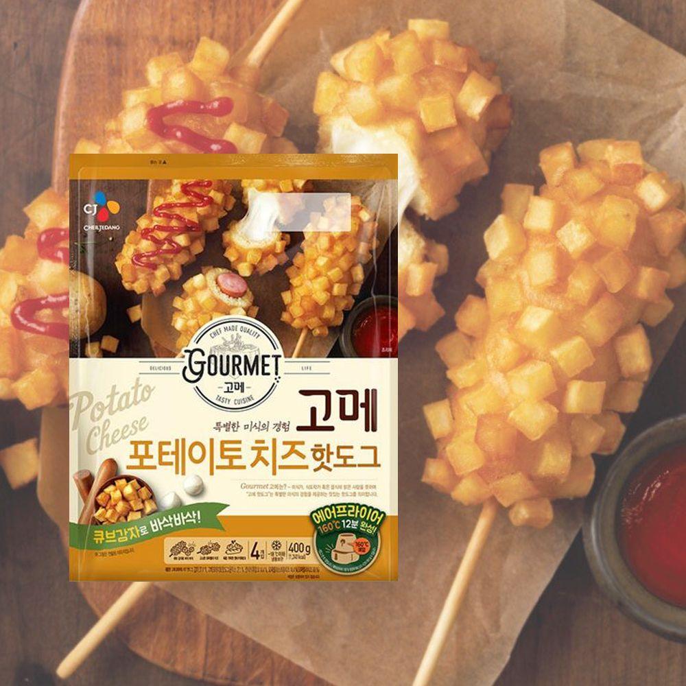 고메) 포테이토 치즈 핫도그 400g