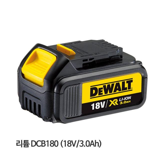 디월트 리튬이온배터리 DCB180 18V 3.0Ah