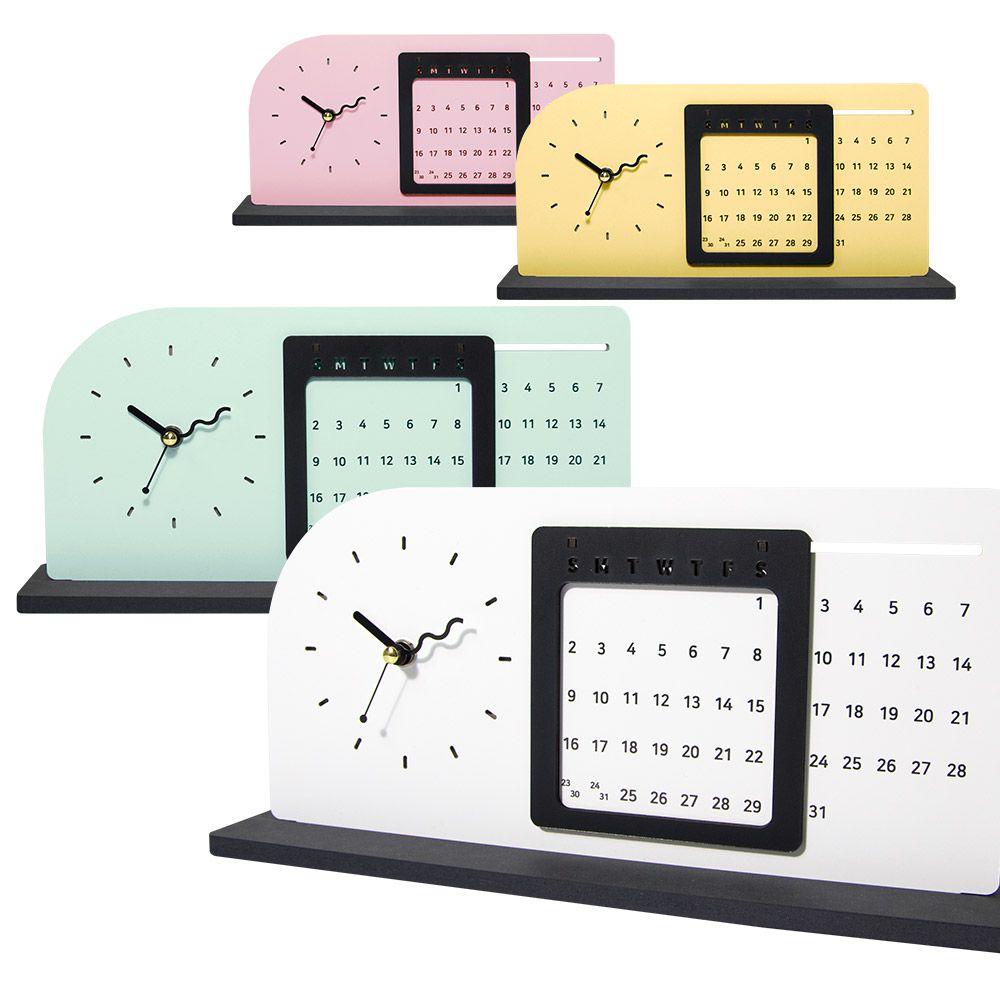 (나룸)TWD-002 탁상 무소음 시계와 만년달력