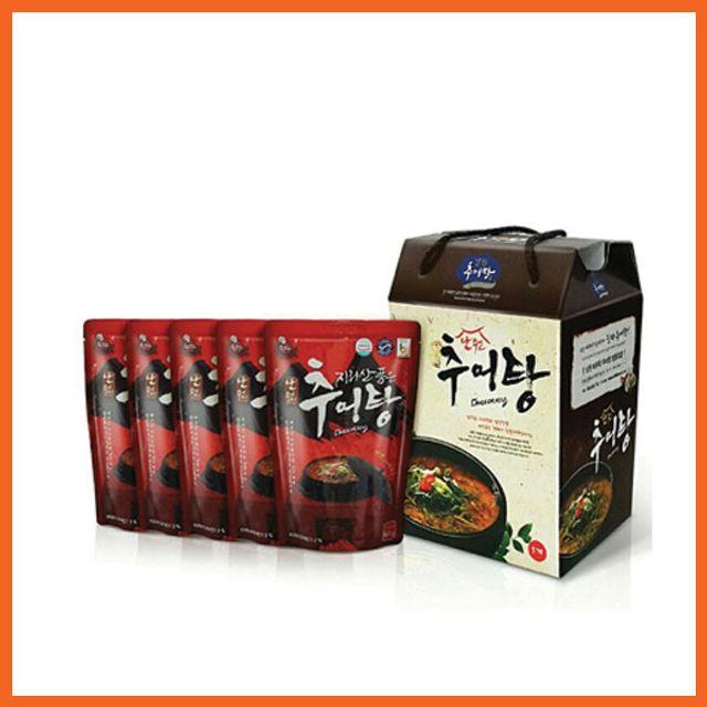 지리산 품은 남원 추어탕 500g x 5팩(선물포장)
