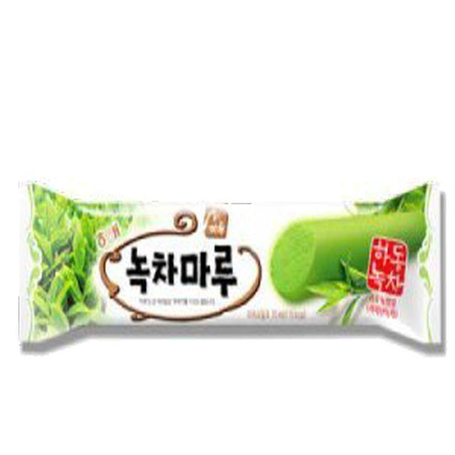 GnJ 녹차마루바40입 얼음과자 콘 쭈쭈바 아이스바