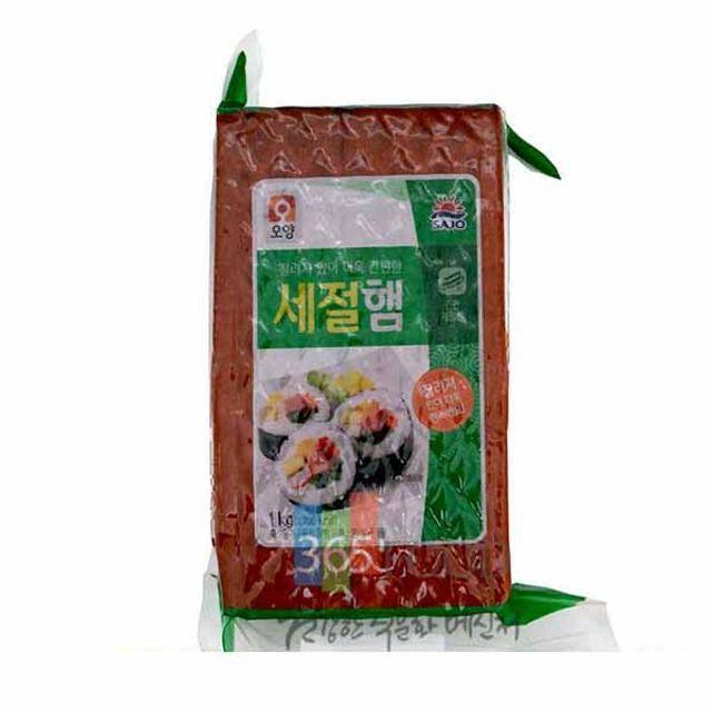사조오양 김밥속햄 세절햄 1kg