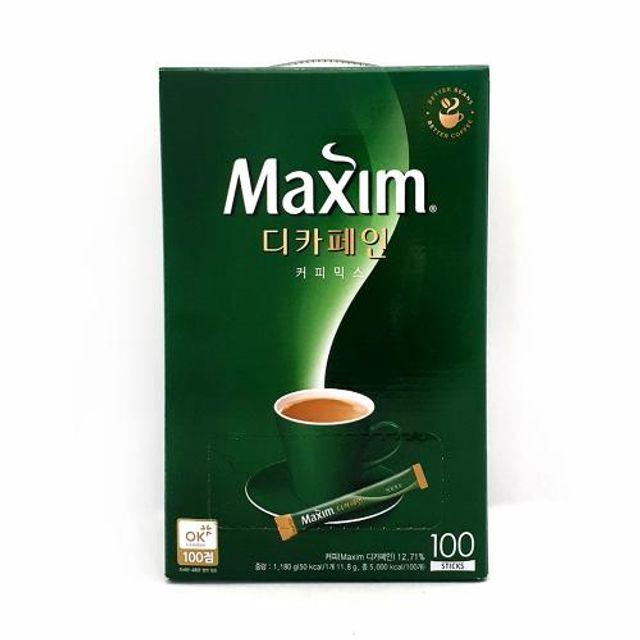 맥심 디카페인 커피믹스 100스틱 믹스커피