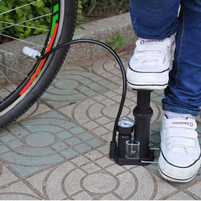휴대용 자전거펌프 공기펌프 수동 프레스타