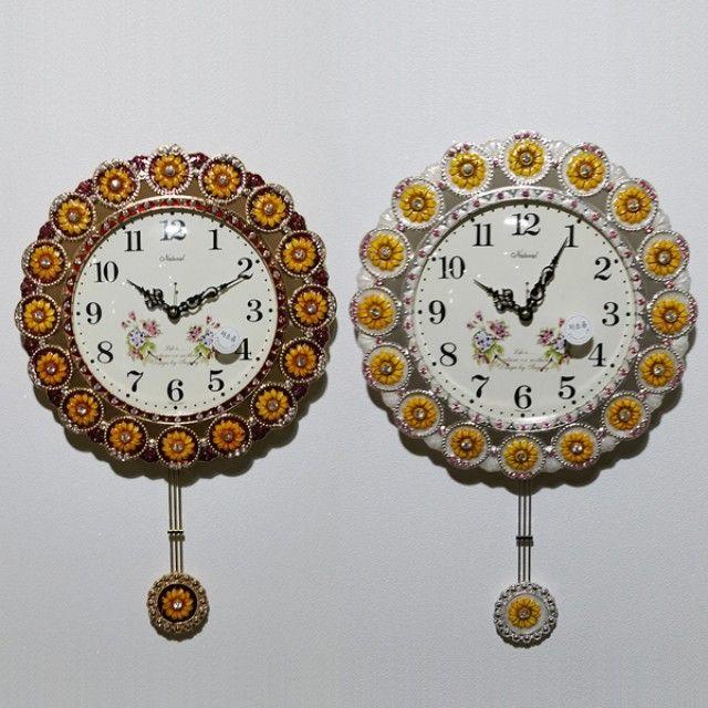 태양해바라기벽시계(신)