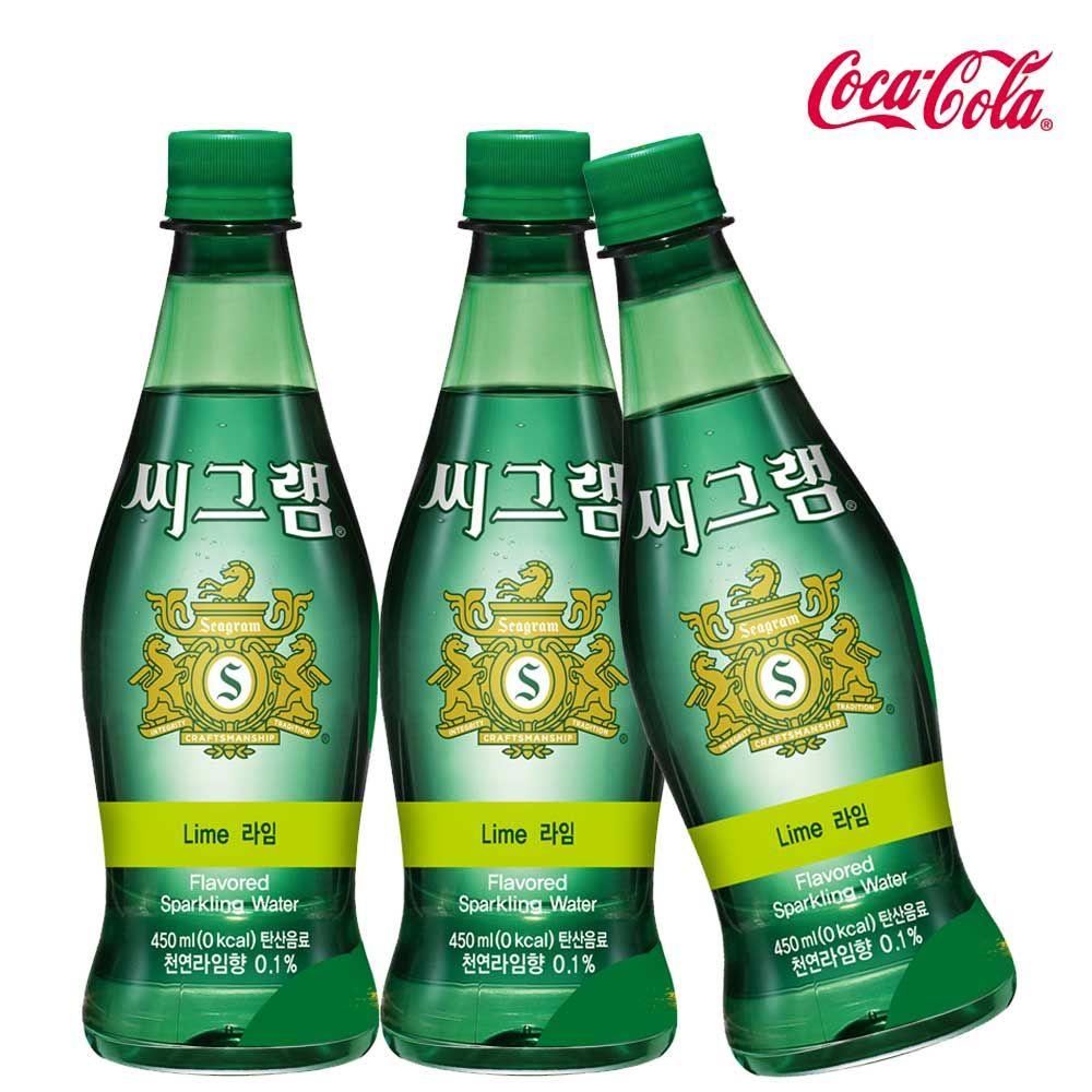 씨그램 라임 350ml X 6개 탄산음료/탄산수/탄산/음료