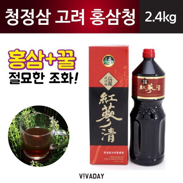 청정삼 고려홍삼청 - 2.4kg