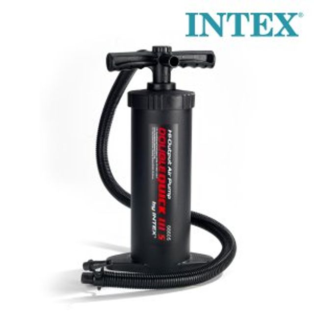 INTEX 핸드펌프 68605 에어목베게 에어매트 에어펌프