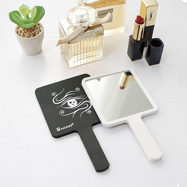 메이크업 심플 스퀘어 디자인 학생휴대용 뷰티 손거울