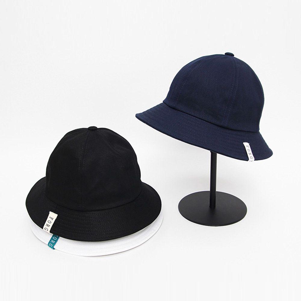 포인트라벨 포기브미 벙거지 모자 사계절 패션 버킷햇
