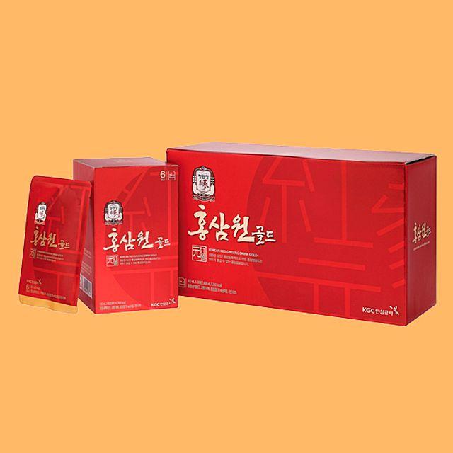 [정관장 홍삼원골드-100ml 24포] 홍삼액기스 건강음료 홍삼음료 명절선물 부모님선물