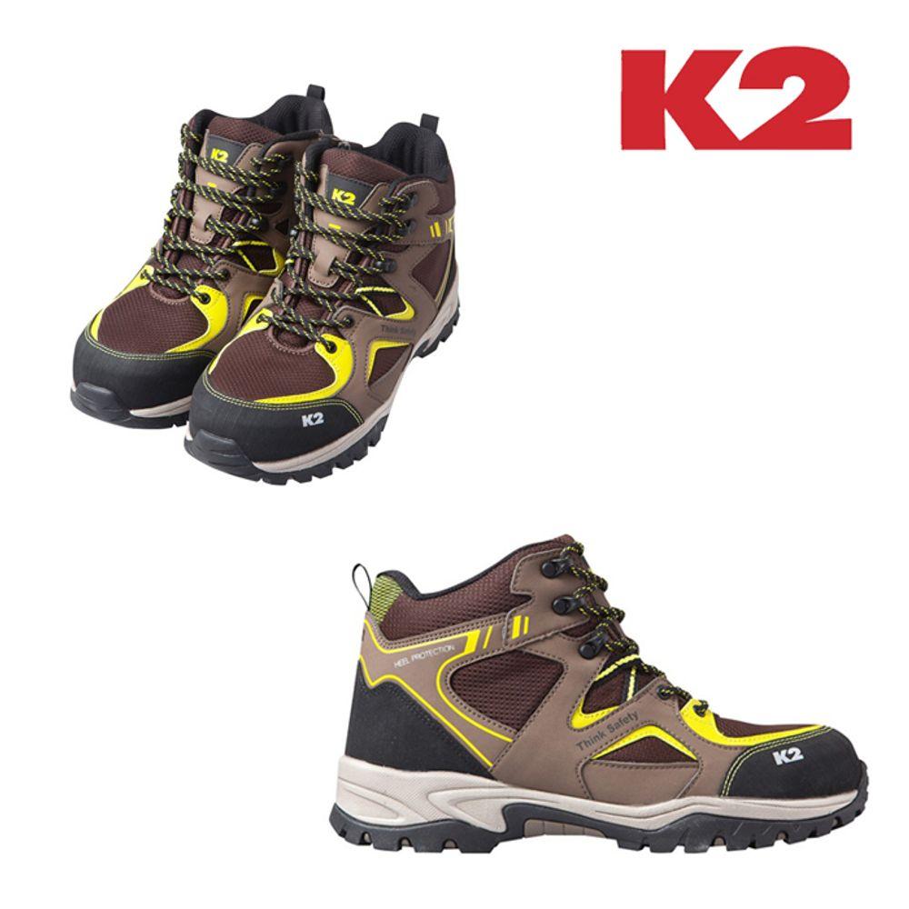 남성 여성 안전화 작업화 현장화 K2-067(BR)