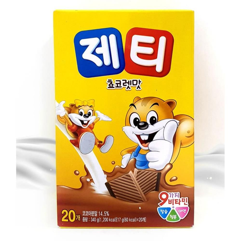 달달한 제티 초코맛 딸기맛 20스틱 선택1 먹기편한