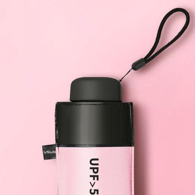 우양산 자외선차단 양산 우산 겸용 5단 USUN 핑크
