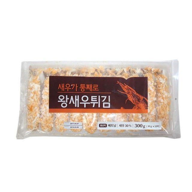 (냉동)새우가통째로왕새우튀김 300g