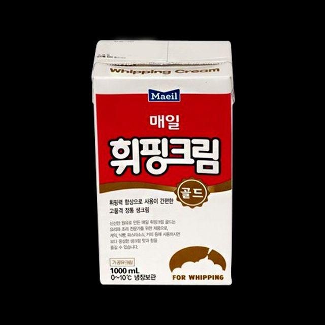 매일 휘핑 크림 골드 1L
