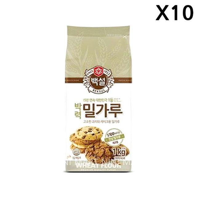 FK 박력 밀가루(백설 1K)X10