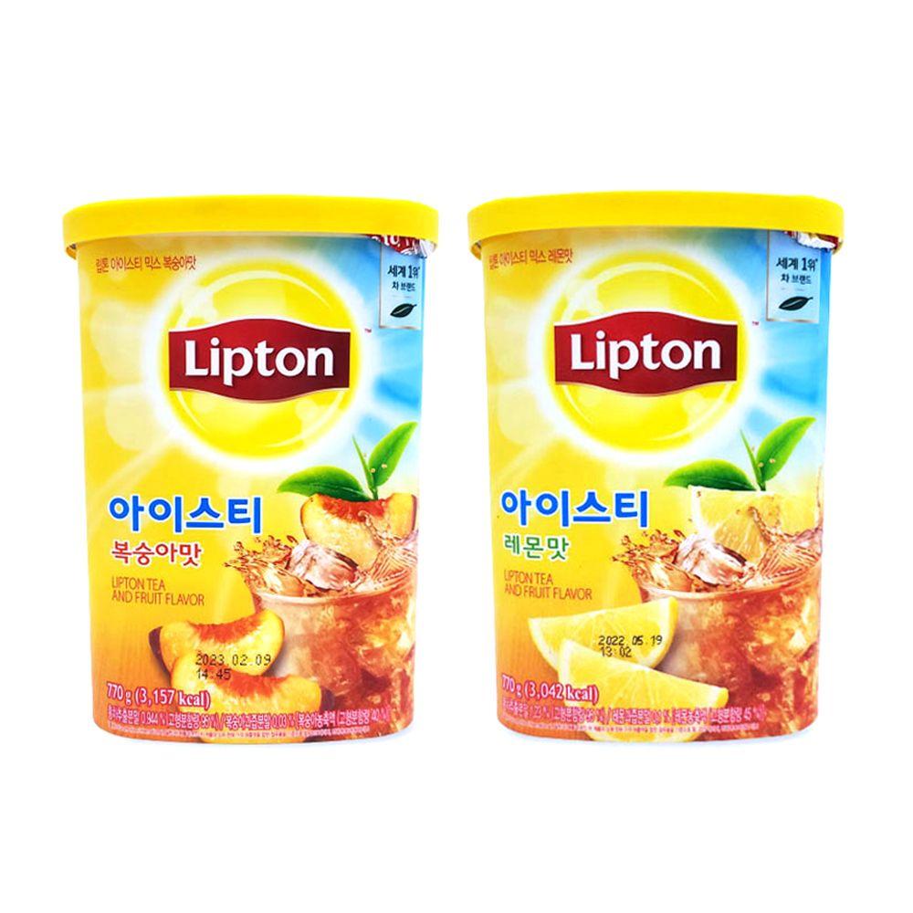 립톤 아이스티 가루 770g/ 카페 아이스티분말/ 타먹는