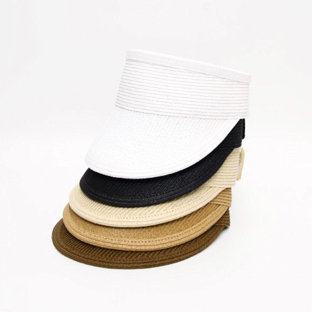 여름 캐주얼 돌돌이 썬캡 데일리룩 찍찍이 패션 모자