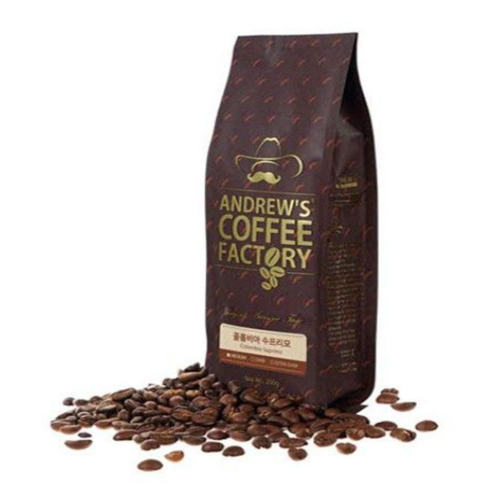 앤드류 콜롬비아 수프리모 1kg 당일로스팅 원두 커피