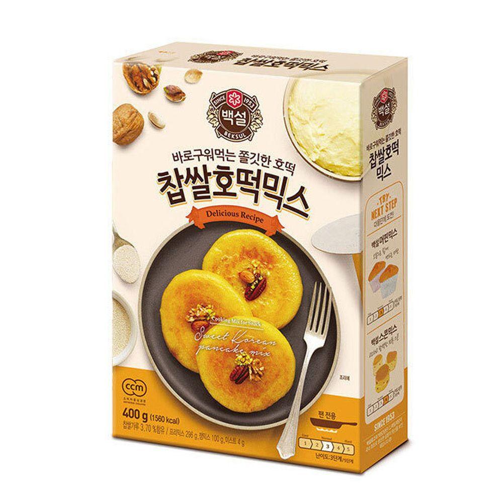 CJ백설 찹쌀호떡믹스 400g 믹스가루 베이킹 호떡가루